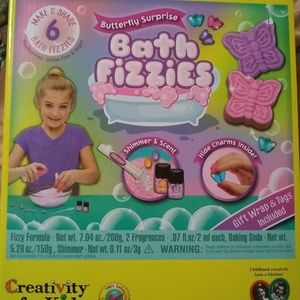 Bath fizzy making kit